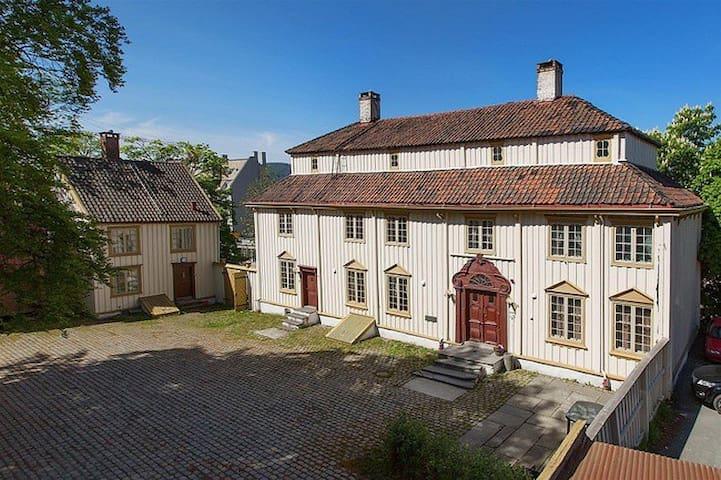 Bakke gård, studioleilighet i herskapelig bolig - Trondheim - Apartamento