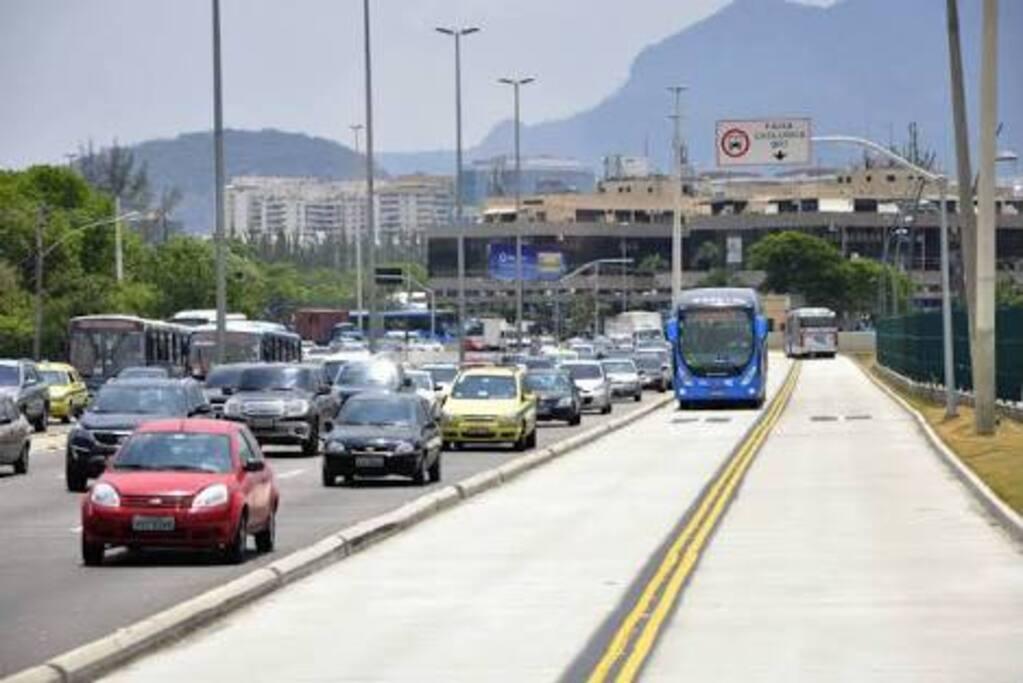 BRT com acesso ao Aeroporto Internacional