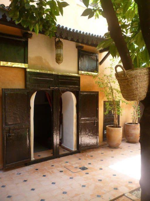 Riad in heart of Marrakech Medina