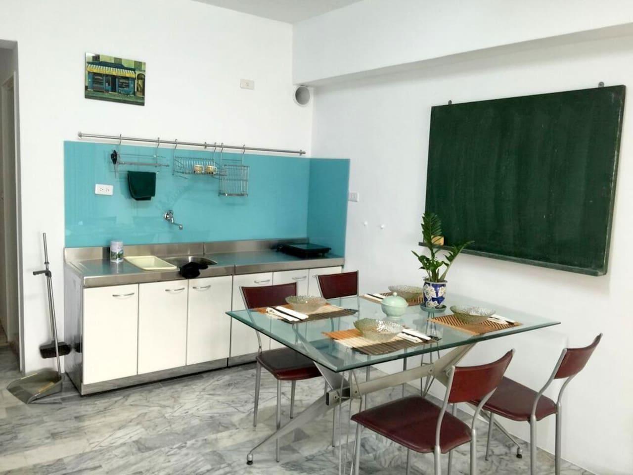 Newly refurnished Kitchen