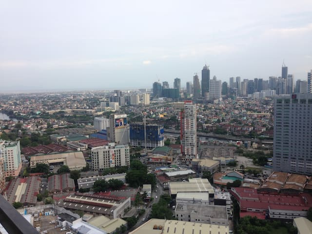 View of the BGC Skyline from the Balcony
