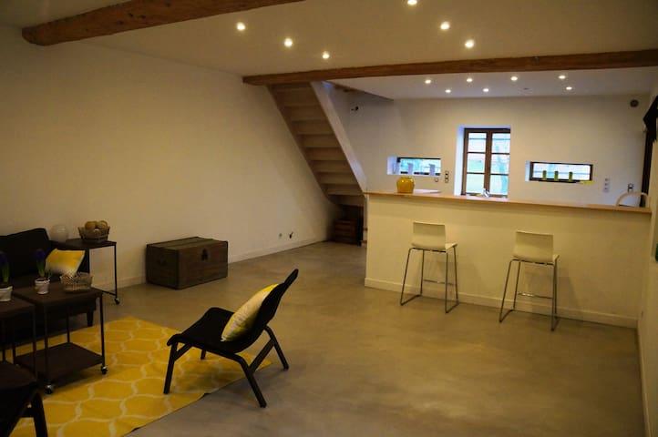 Chambre avec SDB dans le Beaujolais - Lacenas - Casa