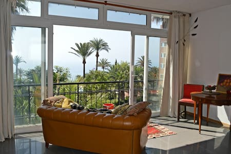 Palm trees and beautiful sea view - Torremolinos - Apartment