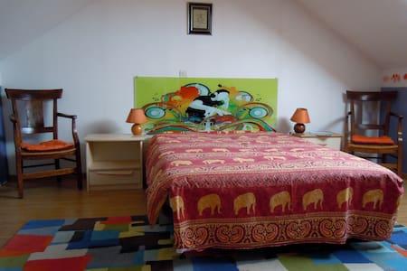 Bright attic suite - 25 m2 - Montigny-lès-Metz