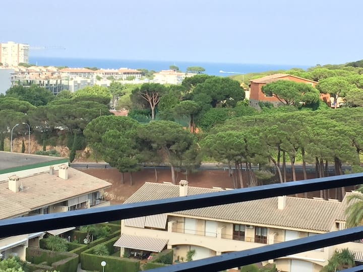 6ème étage avec vue sur la mer