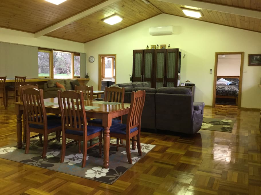 Prepare to be amazed at your spacious, comfy accommodation!