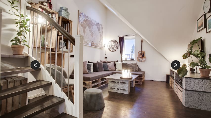 Penthouse in charming Copenhagen!