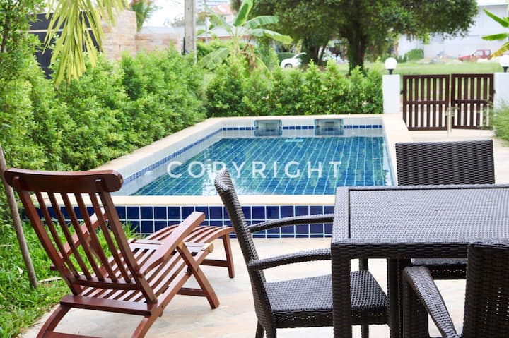 Tropicana Pool Villa 2 beds 75 Sqm. Rayong.