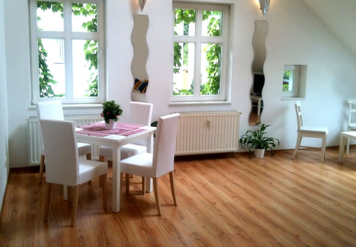 Bright Loft Room in Berlin