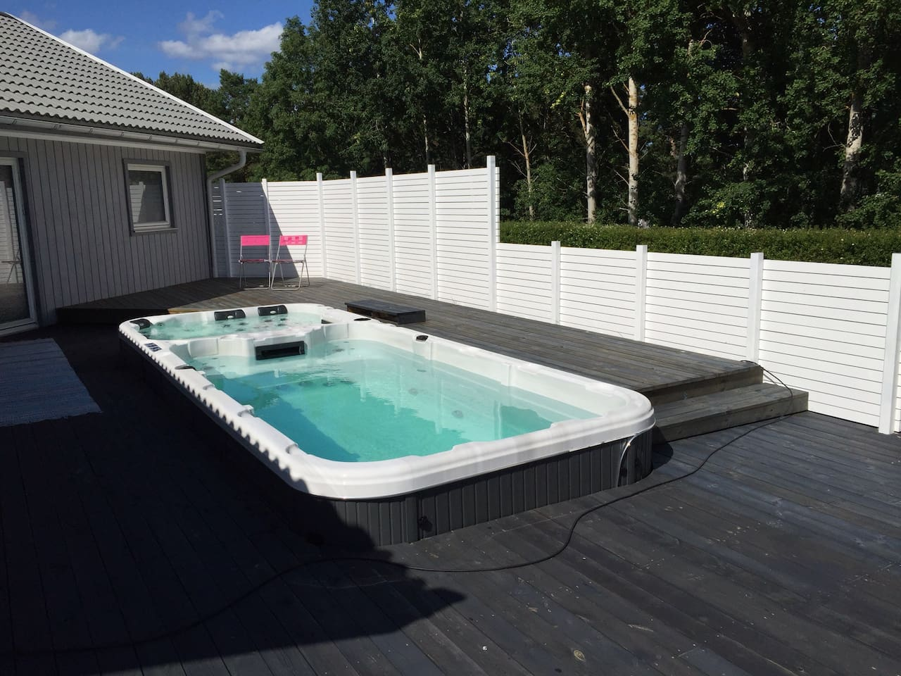 Mysig stuga - Pool och SPA - Cabins for Rent in Oskarshamn, Kalmar ...