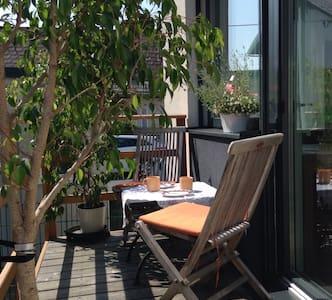 Modern, gemütlich, mit Terrasse