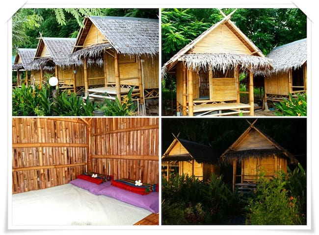 Jungle home satun near lipe island - thailand - House