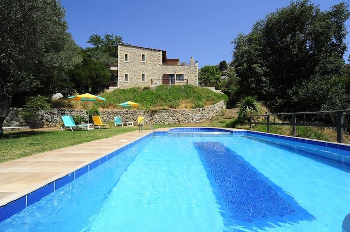 Villa Zinovia, eco holidays! - Rethymno