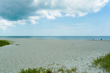 Salty Serenity Duplex #B 500 ft. to Cocoa Beach
