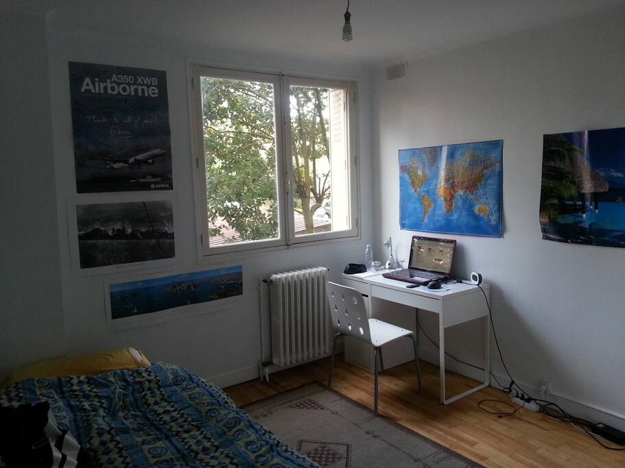 La chambre disponible