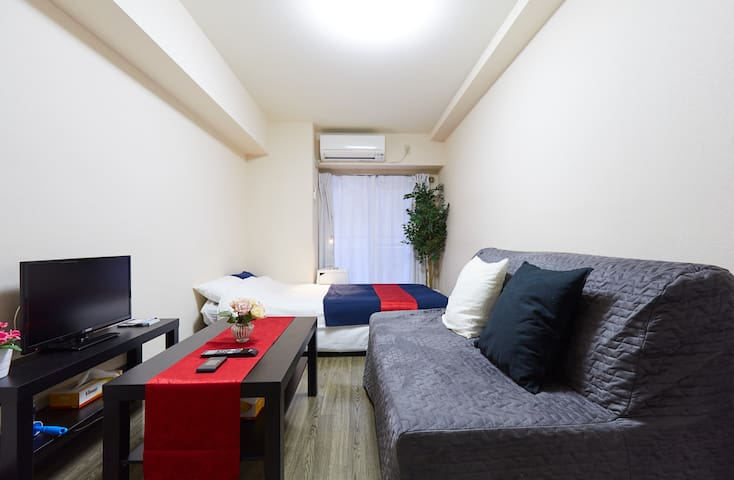 Yokohama Sta. 7min on foot!Man 4ppl!Luxury Open