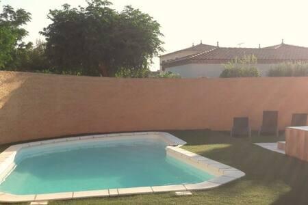 Villa 120M2 avec piscine entre nimes & montpellier