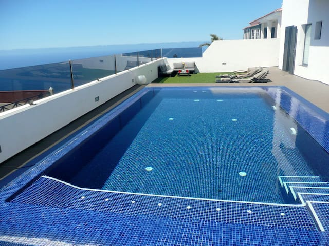 Private pool, best views - El Sauzal