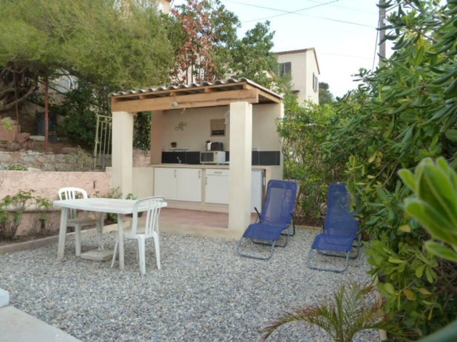 terrasse - jardin 40 m2