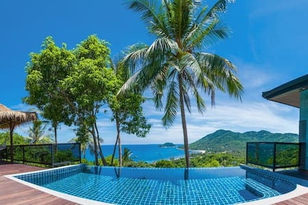Koh Tao Heights Luxury Pool Villa 1 - Villa
