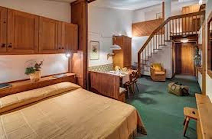Stanza in Hotel a Cortina d'Ampezzo - Cortina d'Ampezzo - Andelsboende