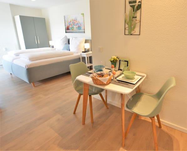 Central, modern and cozy 1-room apartment
