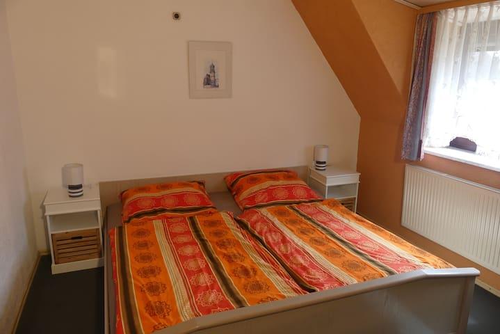 Ferienwohnung Irmgard (Nördlingen), Ferienwohnung mit zwei separaten Schlafzimmern