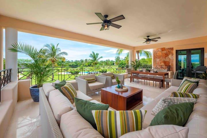 Hacienda De Mita/Luxury Condo/Beach & Pool Access
