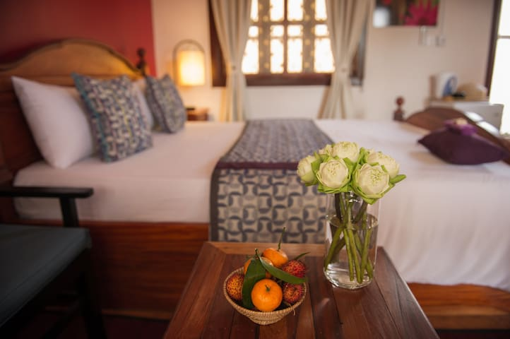 3Suites| Queen bed, rooftop lounge! - Krong Siem Reap - Lägenhet
