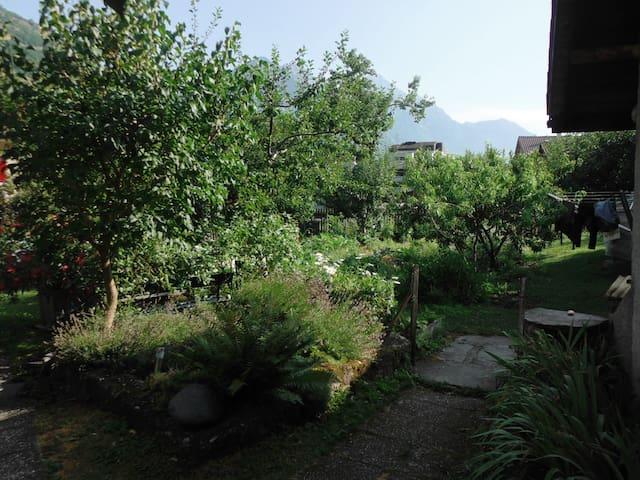 Studio avec jardin - Martigny - Townhouse