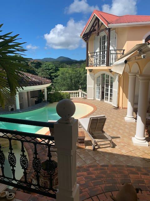 Gite de charme au centre de la Guadeloupe