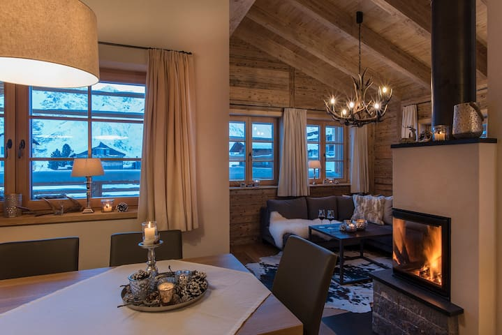 Aadla Walser-Chalet at the Arlberg for 6-8 persons - Schröcken - House