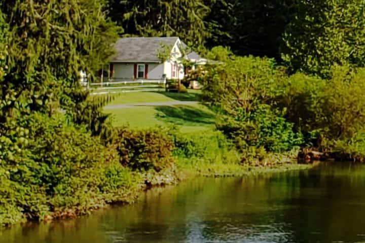 Adorable Cottage on the Buckhannon River