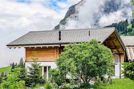 Chalet Baerehoehli on the Axalp
