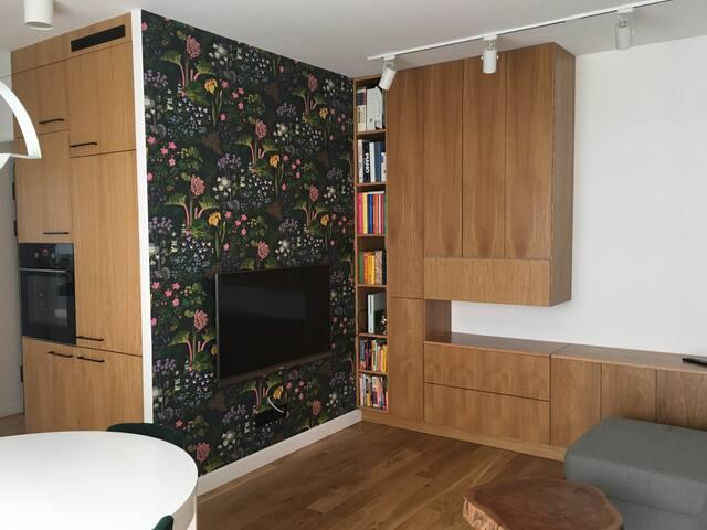 Super mieszkanie z ogródkiem! + Parking podziemny