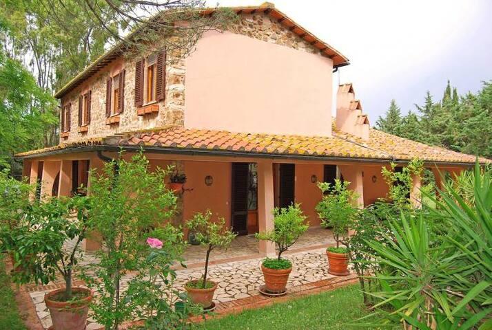 Beautiful ancient villa with garden and pool - Massa Marittima - Villa