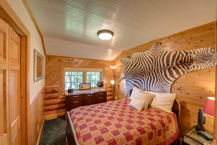"""""""Tanzania"""" Bedroom with Full Bed"""