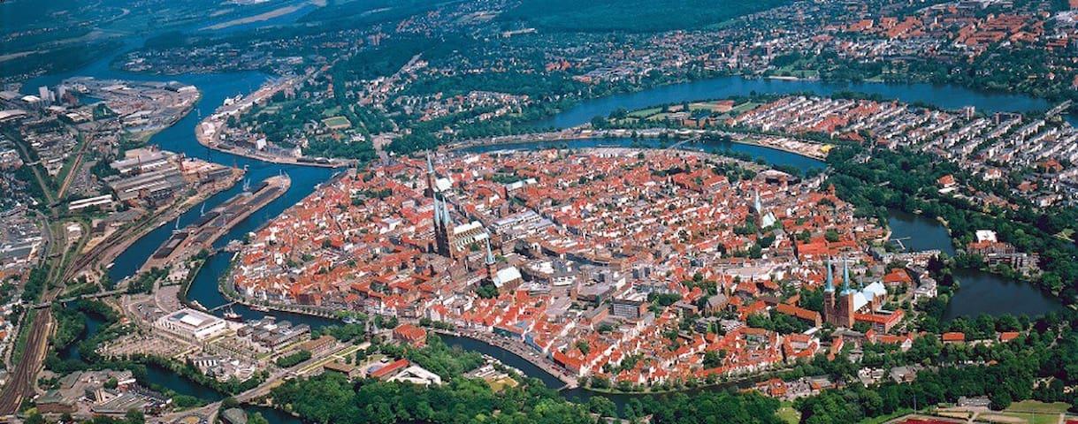Wochenende im Herzen von Lübeck ! - Lübeck - Lägenhet