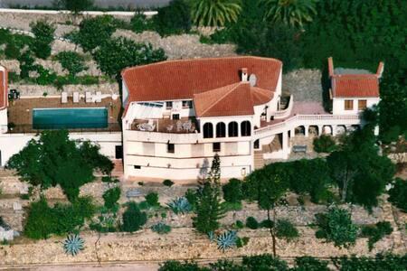 Casa Tosal, 3 double-bedroom, pool, views, - Callosa d'en Sarrià - Dom