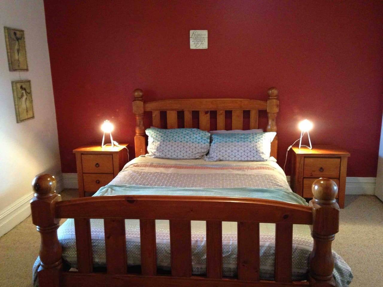 Bedroom with Queen size bed and ample storage