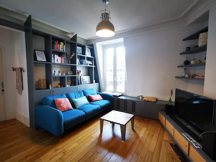 Bel appartement  à 2 pas de l'Arc de Triomphe