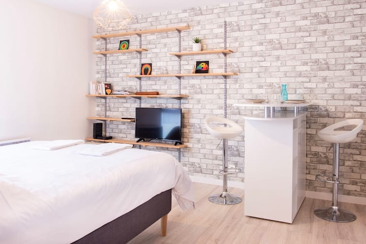 Charming studio in Nantes for 2 people