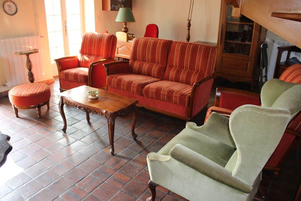 Le salon / the livingroom