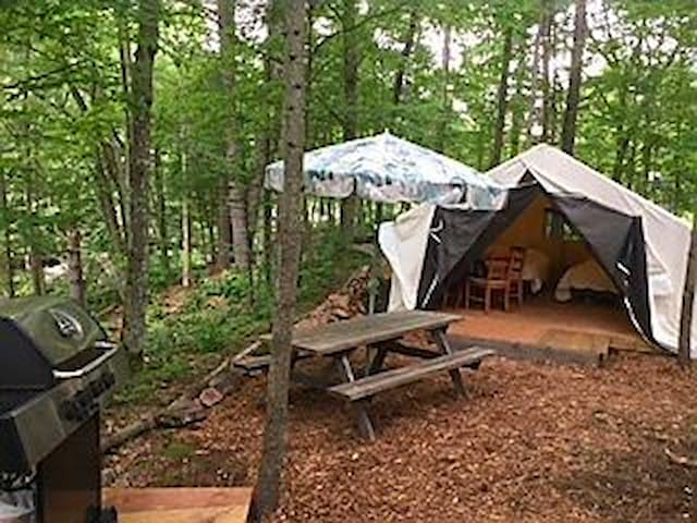 GLAMPING  IN THE KAWARTHAS @ Buckhorn Lake