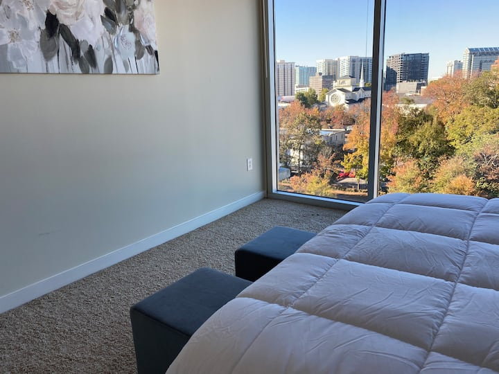 Cozy luxury stay in Atlanta with amazing views -5⭐️