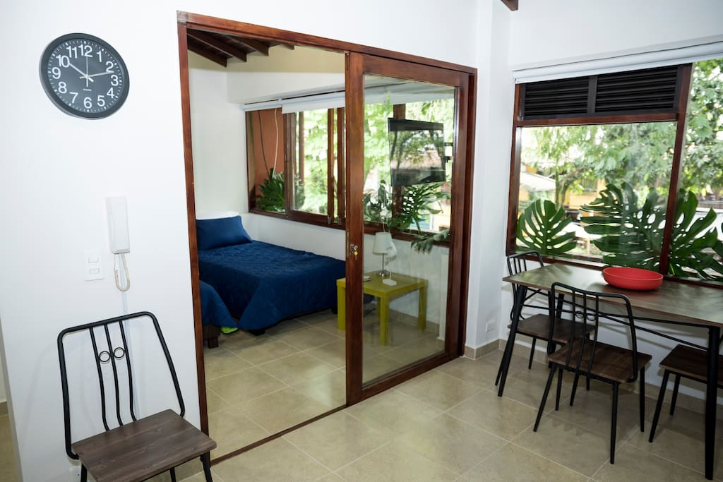 Open apartment with everything you need for a comfortable stay in Medellin