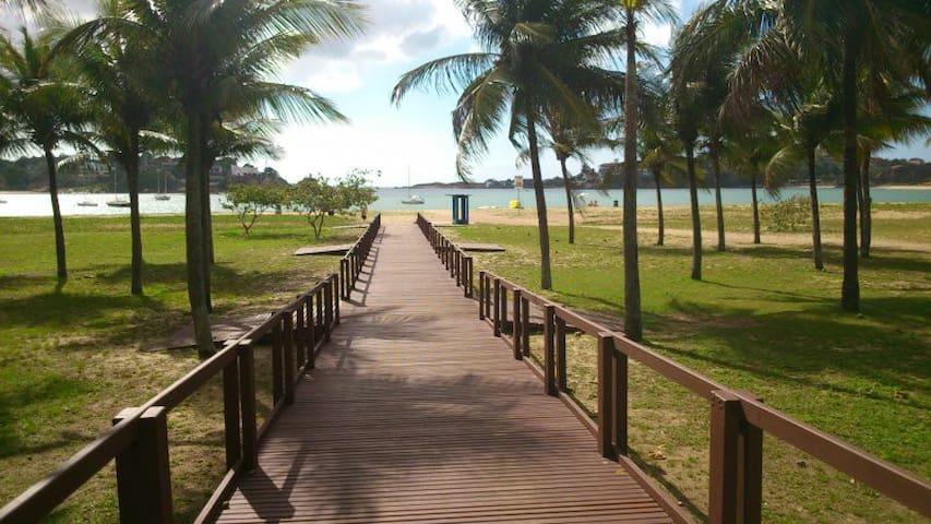 Apt charmoso na Praia do Canto★Beautiful Beach Apt