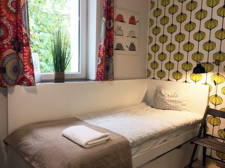 Room with  PRIV Bathroom in Gdansk