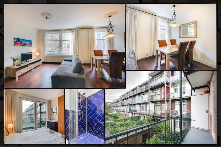 Centrally located | Close to Vondelpark | Balcony