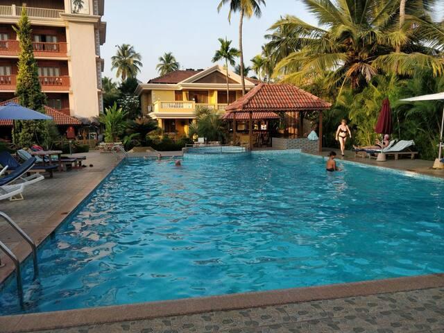 Cosy Bedrooms at Benaulim, Goa